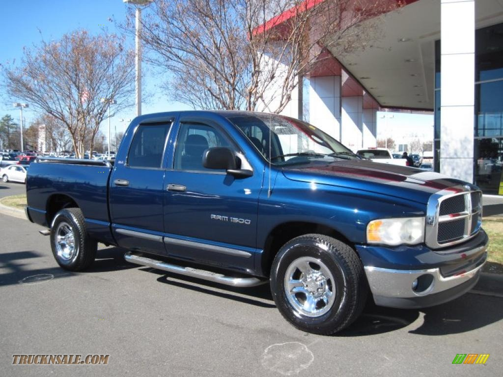 Ron Lewis Chrysler Dodge Jeep Ram Pleasant Hills >> 2002 Dodge Ram 1500 SLT Quad Cab in Patriot Blue Pearlcoat - 116138 | Truck N' Sale