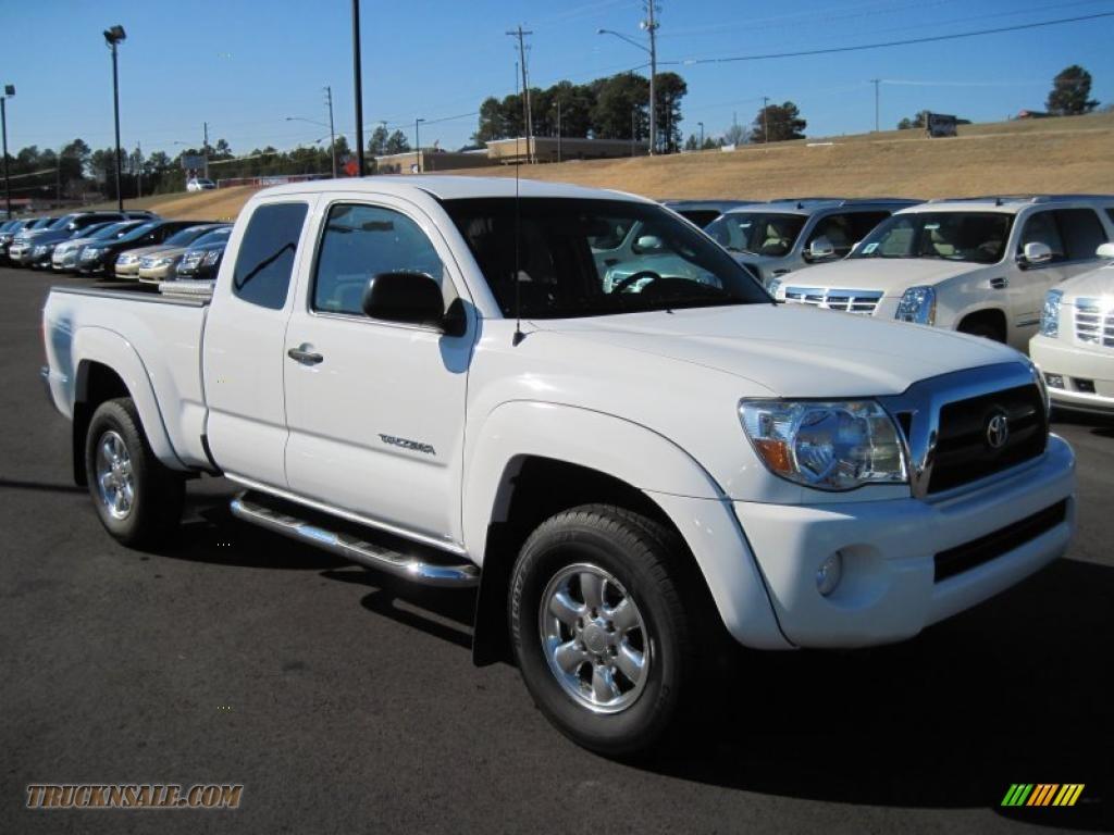 2007 toyota tacoma v6 prerunner access cab in super white photo 7 329482 truck n 39 sale. Black Bedroom Furniture Sets. Home Design Ideas