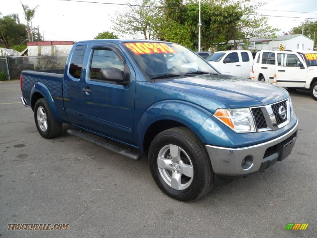 2005 nissan frontier le king cab in electric blue metallic 403575 truck n 39 sale. Black Bedroom Furniture Sets. Home Design Ideas
