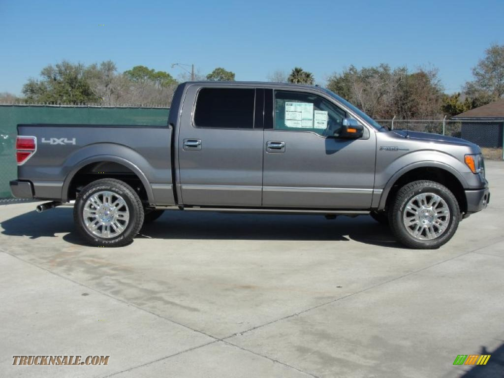 2011 ford f150 platinum supercrew 4x4 in sterling grey metallic photo 2 a25988 truck n 39 sale. Black Bedroom Furniture Sets. Home Design Ideas