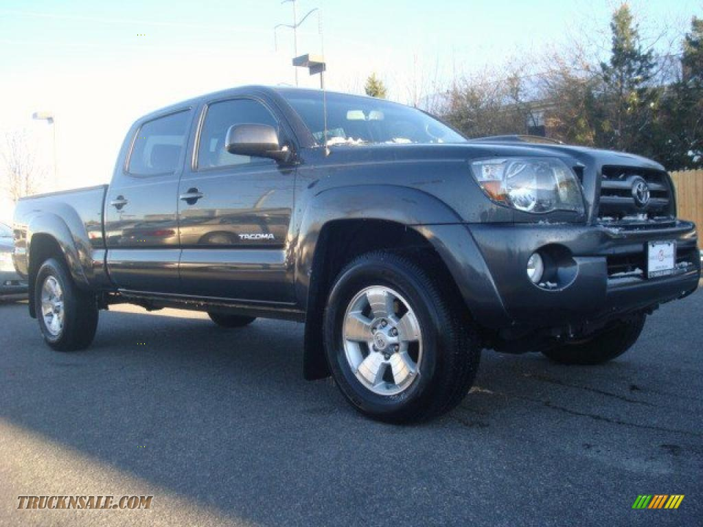 2010 toyota tacoma v6 prerunner trd sport double cab in magnetic gray metallic 702376 truck. Black Bedroom Furniture Sets. Home Design Ideas