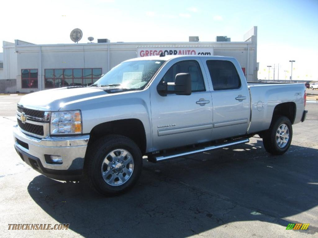 2011 Chevrolet Silverado 2500HD LTZ Crew Cab 4x4 in Sheer ...
