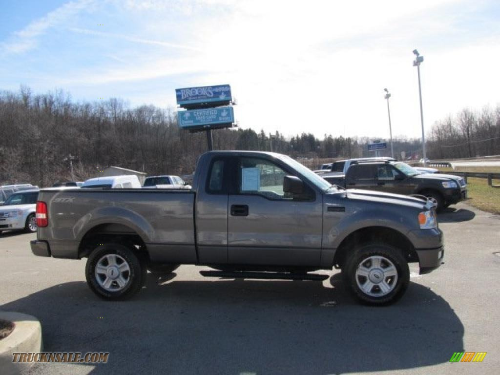 2005 ford f150 stx regular cab 4x4 in dark shadow grey. Black Bedroom Furniture Sets. Home Design Ideas