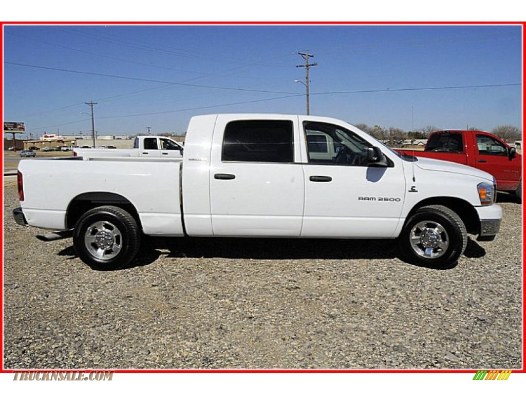 2006 dodge ram 2500 slt mega cab in bright white photo 12 for Steve white motors inc