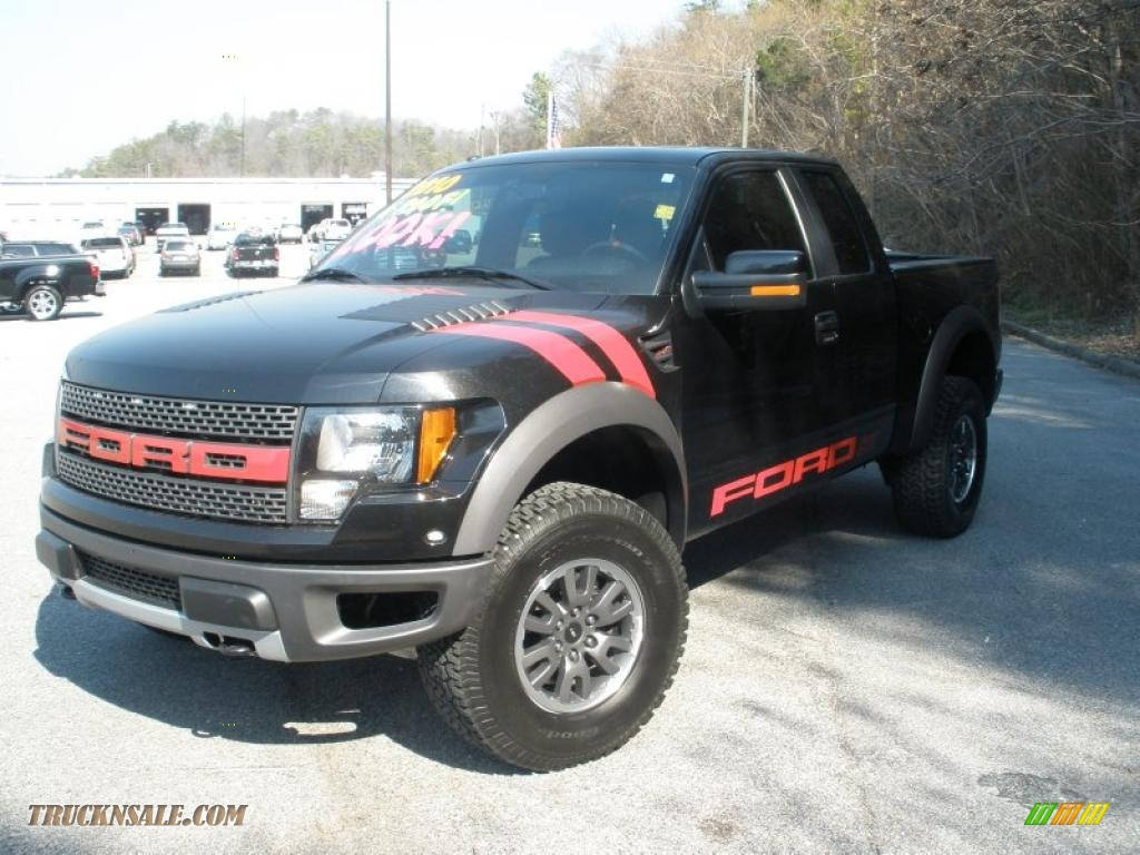 2010 ford f150 svt raptor supercab 4x4 in tuxedo black photo 7 a41060 truck n 39 sale. Black Bedroom Furniture Sets. Home Design Ideas