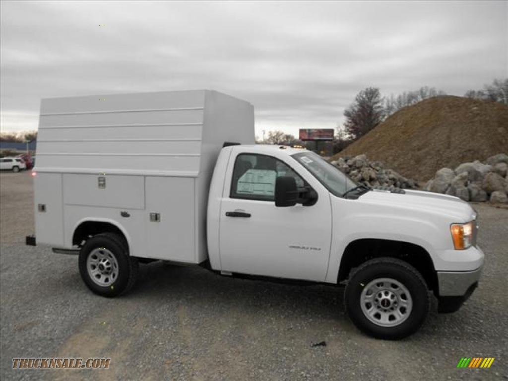 2011 Gmc Sierra 3500hd Work Truck Regular Cab Utility In