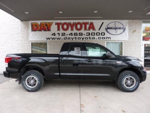Black 2011 Toyota Tundra TRD Rock Warrior Double Cab 4x4