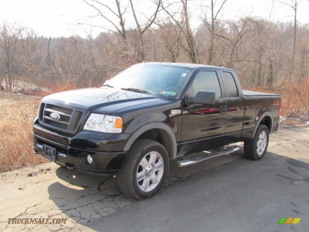 Black black ford f150 fx4 supercab 4x4