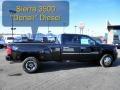 GMC Sierra 3500HD Denali Crew Cab 4x4 Dually Onyx Black photo #1