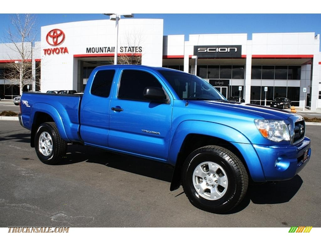 2008 Toyota Tacoma For Sale >> 2008 Toyota Tacoma V6 TRD Access Cab 4x4 in Speedway Blue ...