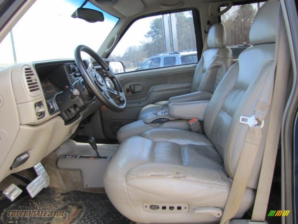 2000 chevrolet silverado 2500 ls crew cab 4x4 in indigo - 2000 chevy silverado 1500 interior ...