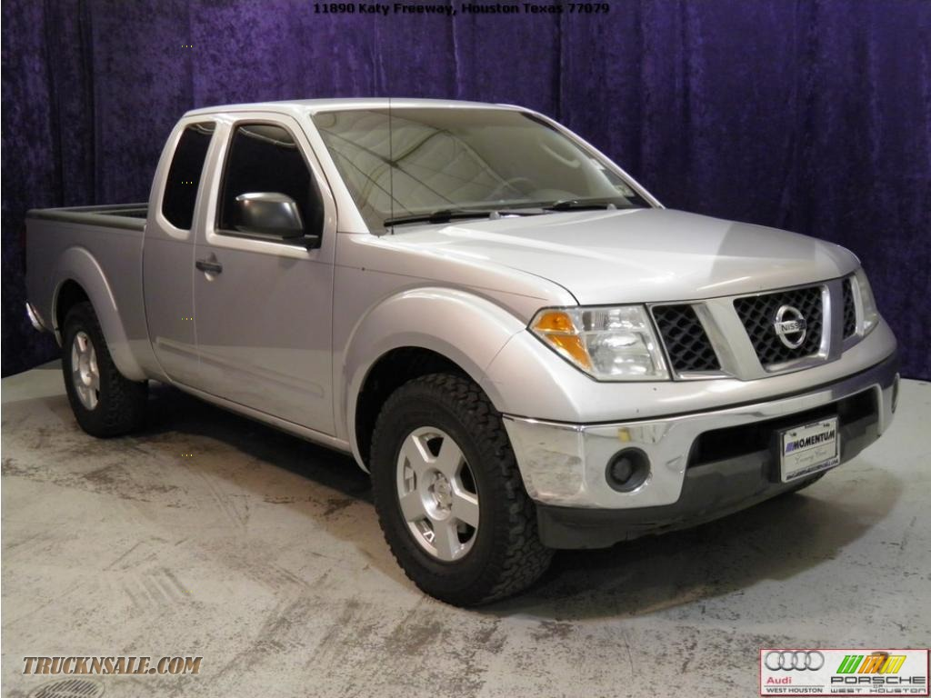 Porsche West Houston >> 2006 Nissan Frontier SE King Cab in Radiant Silver - 451233 | Truck N' Sale