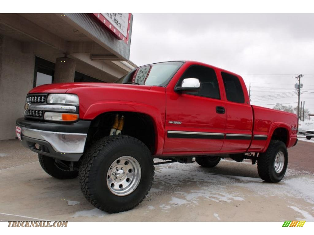 2000 chevrolet silverado 1500 ls extended cab 4x4 in victory red photo 14 219338 truck n 39 sale. Black Bedroom Furniture Sets. Home Design Ideas