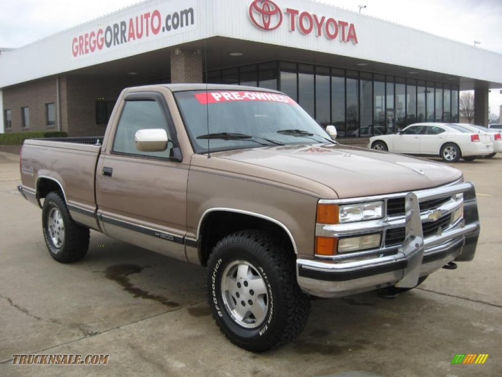 Orr Toyota Searcy >> 1994 Chevrolet C/K K1500 Regular Cab 4x4 in Light Autumnwood Metallic - 151669 | Truck N' Sale