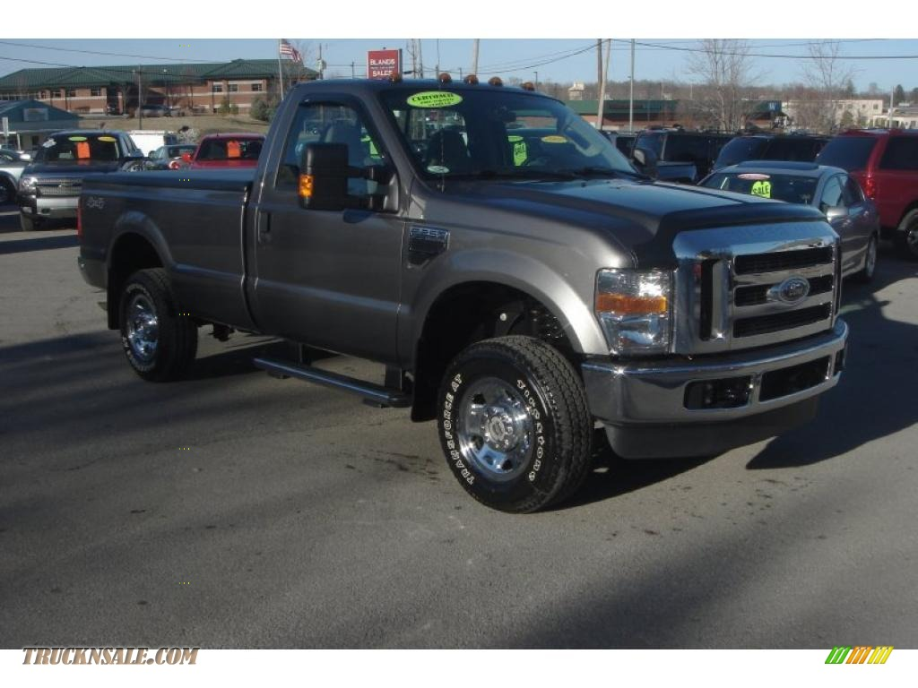 2008 ford f250 super duty xlt regular cab 4x4 in dark. Black Bedroom Furniture Sets. Home Design Ideas