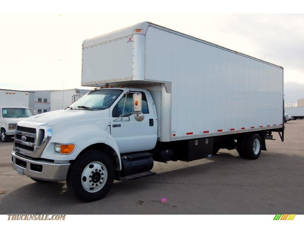 2008 F750 Super Duty XL Chassis Regular Cab Moving Truck Oxford