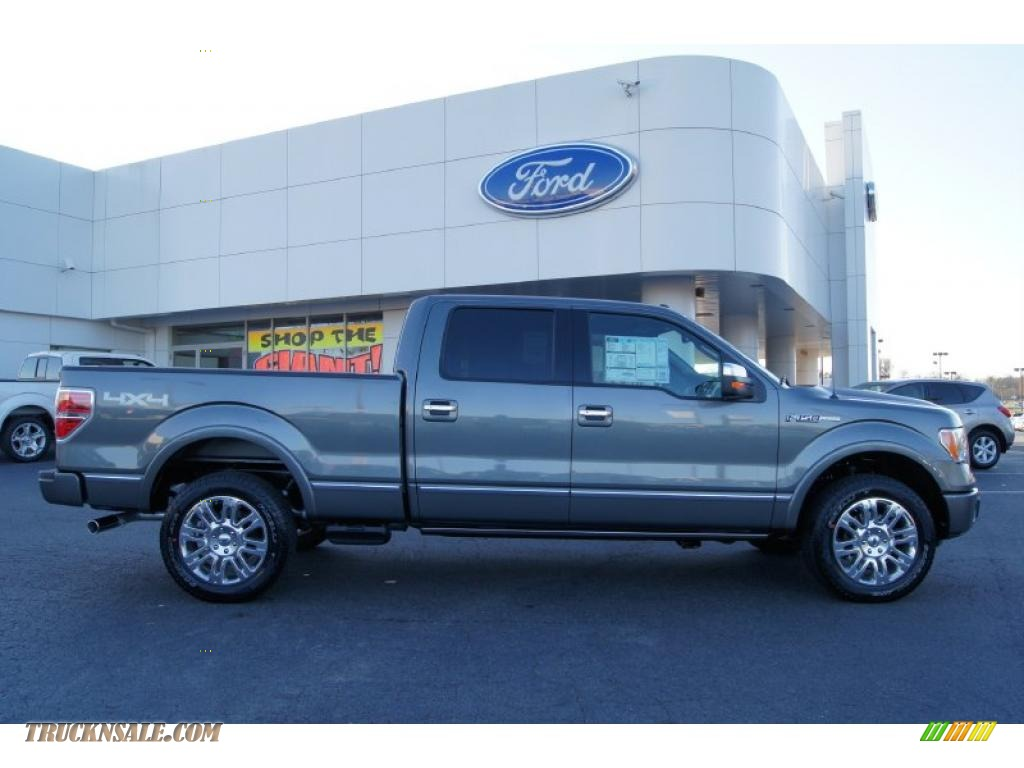 2011 ford f150 platinum supercrew 4x4 in sterling grey metallic photo 2 a82763 truck n 39 sale. Black Bedroom Furniture Sets. Home Design Ideas