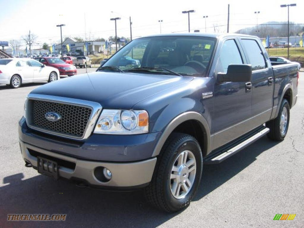 2006 Ford F150 Lariat Supercrew 4x4 In Medium Wedgewood