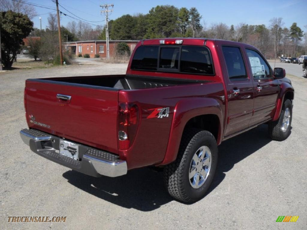2011 chevrolet colorado lt crew cab 4x4 in cardinal red. Black Bedroom Furniture Sets. Home Design Ideas
