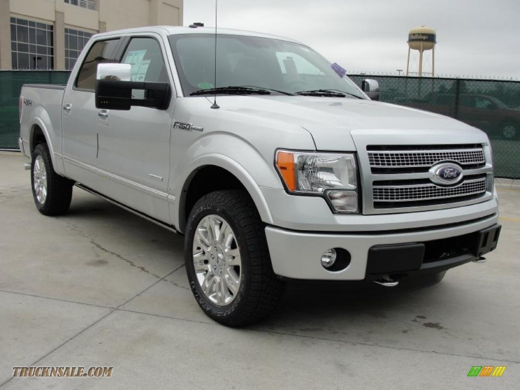 2011 ford f150 platinum supercrew 4x4 in ingot silver metallic a94332 truck n 39 sale. Black Bedroom Furniture Sets. Home Design Ideas