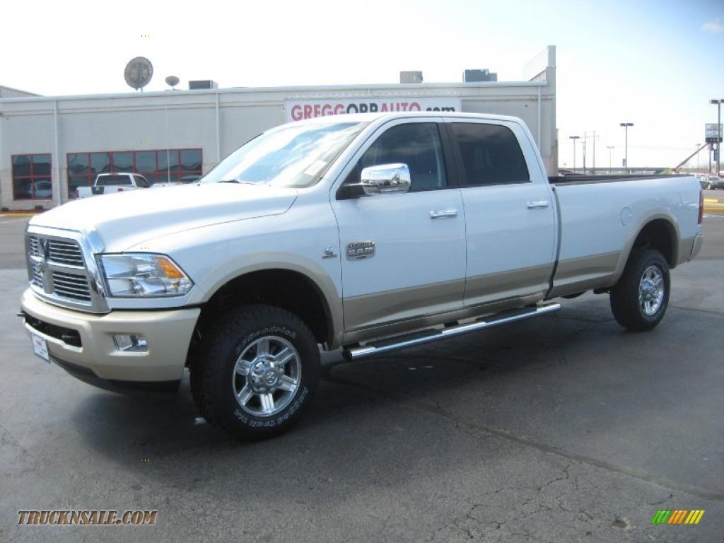 Ron Lewis Dodge >> 2011 Dodge Ram 2500 HD Laramie Longhorn Crew Cab 4x4 in Bright White - 567442 | Truck N' Sale