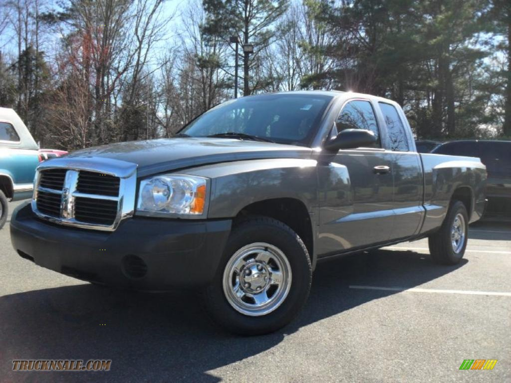 2006 dodge dakota st club cab 4x4 in mineral gray metallic 682958 truck n 39 sale. Black Bedroom Furniture Sets. Home Design Ideas