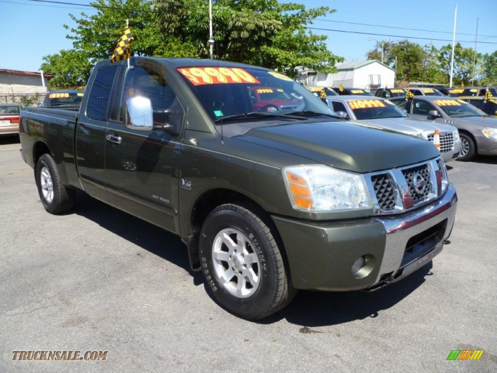 2004 nissan titan se king cab in canteen green photo 11 513841 truck n 39 sale. Black Bedroom Furniture Sets. Home Design Ideas