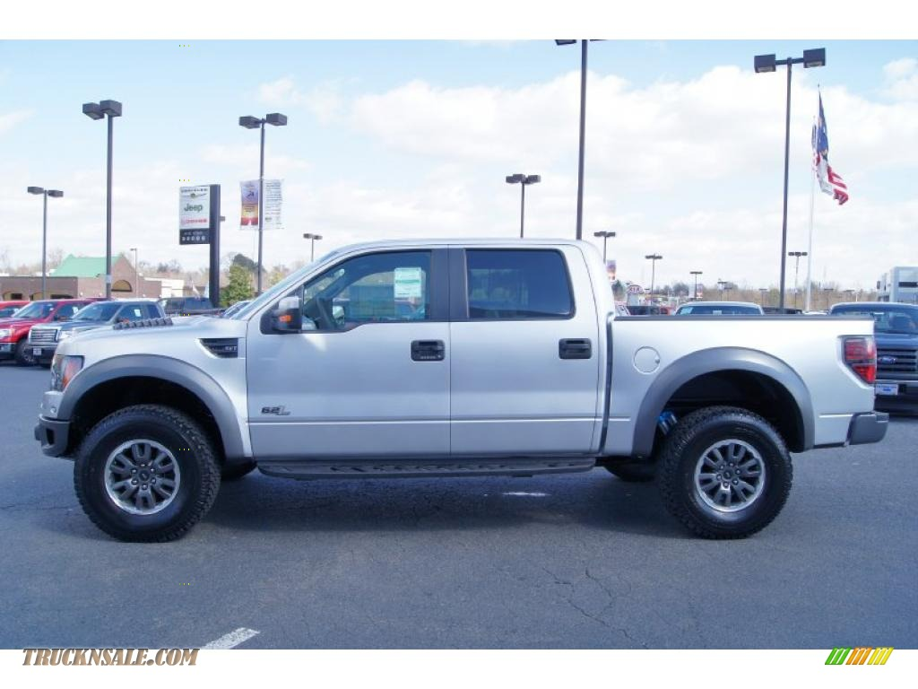 2011 ford f150 svt raptor supercrew 4x4 in ingot silver metallic photo 5 a49623 truck n 39 sale. Black Bedroom Furniture Sets. Home Design Ideas