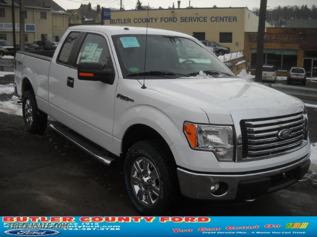 2011 ford f150 xlt supercrew 4x4 in oxford white a70703 truck n 39 sale. Black Bedroom Furniture Sets. Home Design Ideas