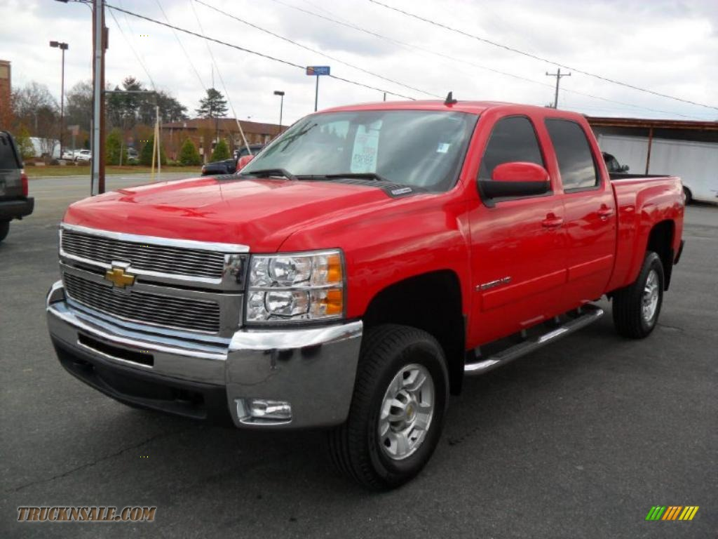 2007 chevrolet silverado 2500hd crew cab diesel lt 4x4. Black Bedroom Furniture Sets. Home Design Ideas