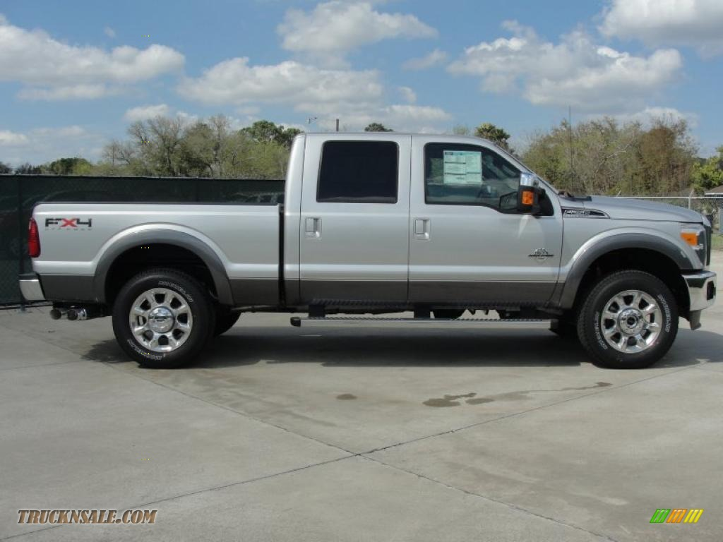 Ford F250 Lariat Fx4 Metallic Gray For Sale Autos Post