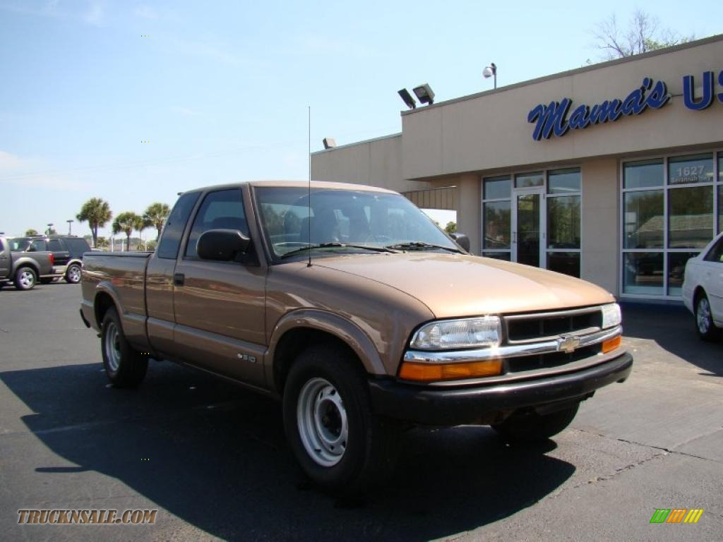 2002 Chevrolet S10 Extended Cab In Sandalwood Metallic