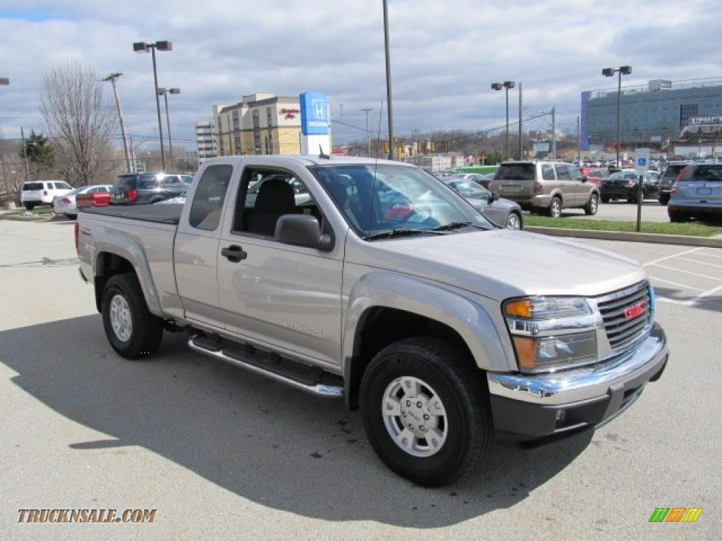 2005 Gmc Canyon Sle Extended Cab 4x4 In Silver Birch