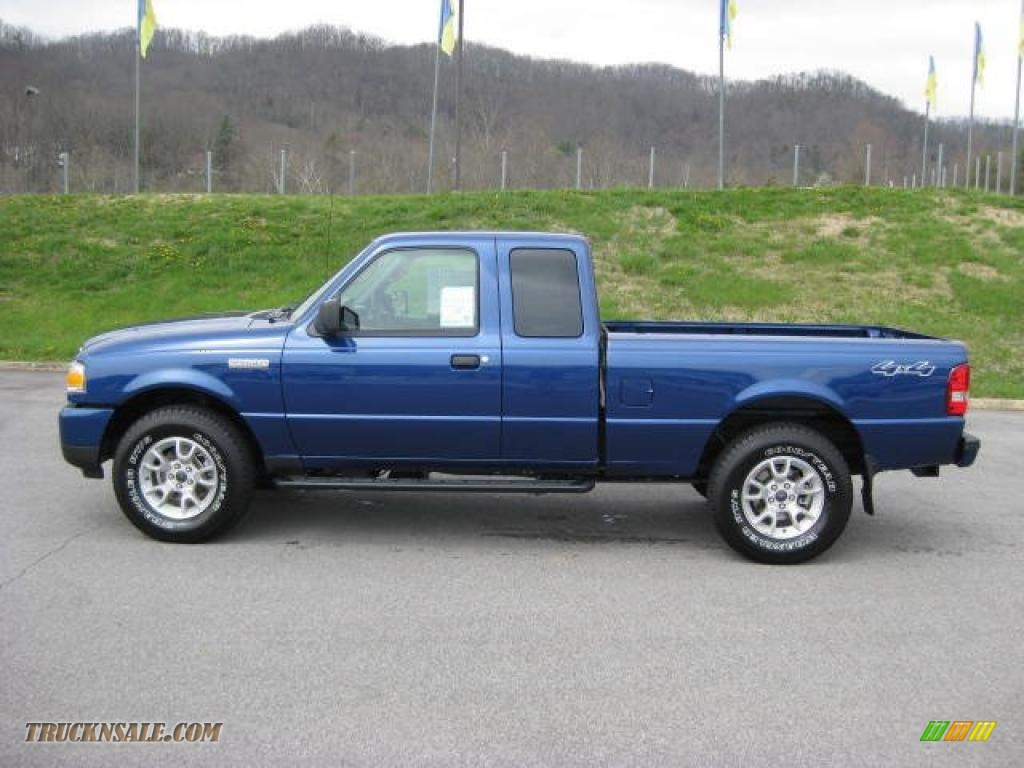 2011 Ford Ranger Xlt Supercab 4x4 In Vista Blue Metallic