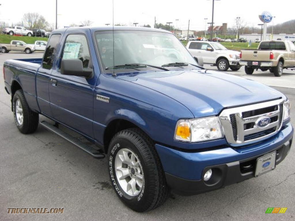 2011 Ford Ranger Xlt Supercab 4x4 In Vista Blue Metallic