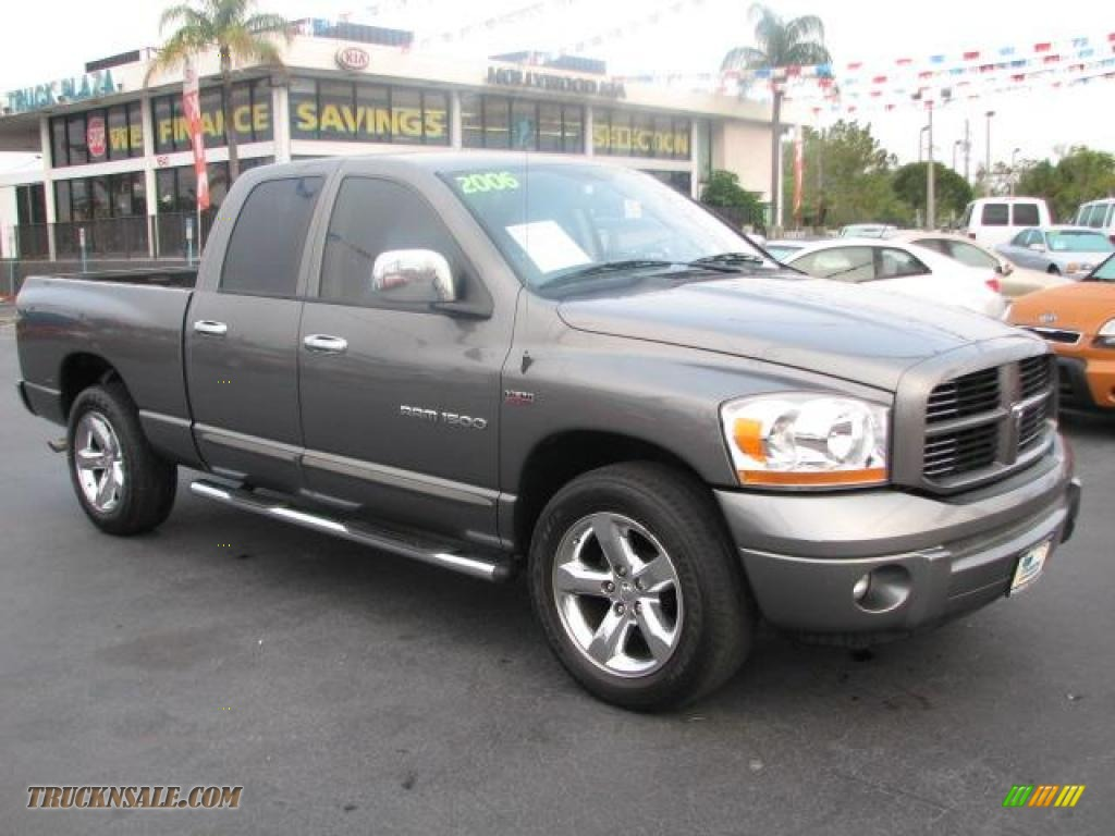 2006 dodge ram 1500 sport quad cab in mineral gray metallic photo 18 639016 truck n 39 sale. Black Bedroom Furniture Sets. Home Design Ideas