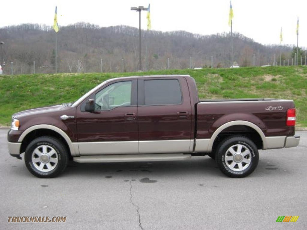 2008 ford f150 king ranch supercrew 4x4 in mahogany metallic d11388 truck n 39 sale. Black Bedroom Furniture Sets. Home Design Ideas