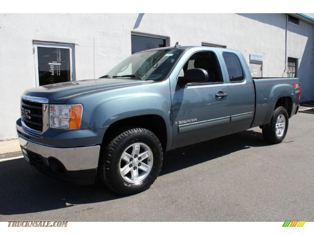 2008 gmc sierra 1500 sle extended cab 4x4 in stealth gray. Black Bedroom Furniture Sets. Home Design Ideas