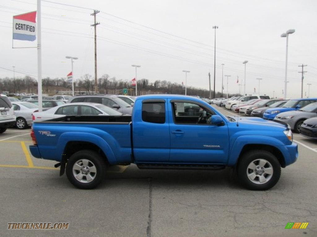 2008 toyota tacoma v6 trd sport access cab 4x4 in speedway blue photo 8 476131 truck n 39 sale. Black Bedroom Furniture Sets. Home Design Ideas
