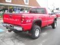 Chevrolet Silverado 2500HD Classic Work Truck Regular Cab 4x4 Victory Red photo #3