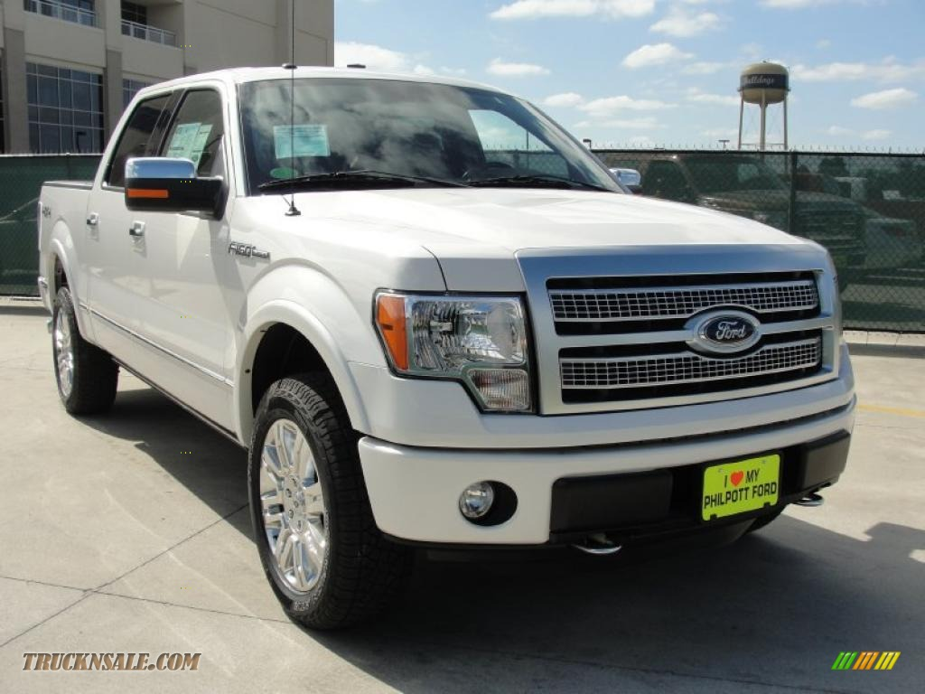 2011 ford f150 platinum supercrew 4x4 in white platinum metallic tri coat b16698 truck n 39 sale. Black Bedroom Furniture Sets. Home Design Ideas