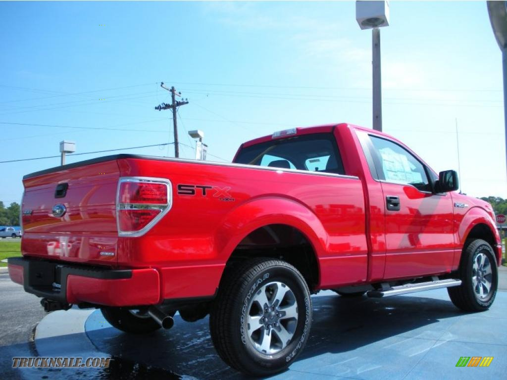 2011 ford f150 stx regular cab 4x4 in race red photo 3 d40350 truck n 39 sale. Black Bedroom Furniture Sets. Home Design Ideas
