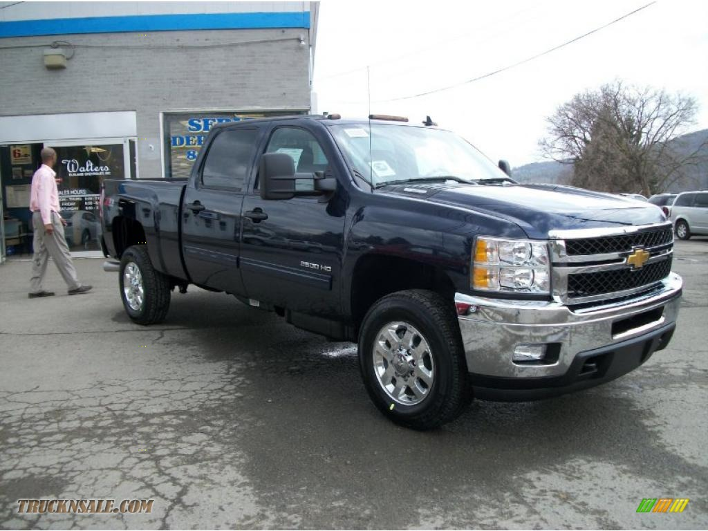 2011 chevrolet silverado 2500hd lt crew cab 4x4 in imperial blue metallic photo 2 214383. Black Bedroom Furniture Sets. Home Design Ideas
