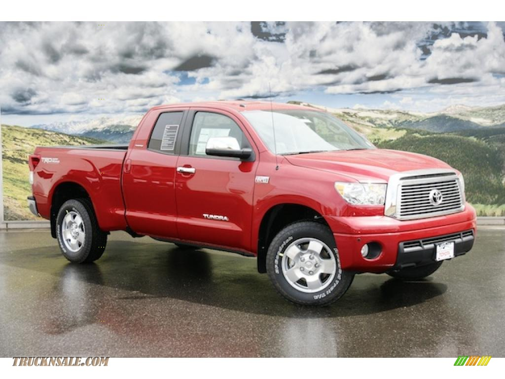 2011 Toyota Tundra Limited Double Cab 4x4 In Barcelona Red