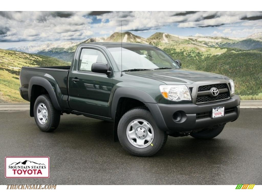 2011 Toyota Tacoma Regular Cab 4x4 In Timberland Green