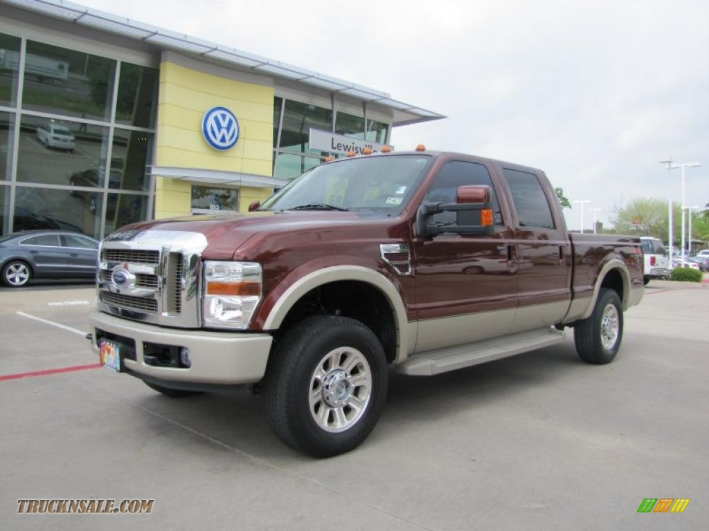 2008 ford f250 super duty king ranch crew cab 4x4 in dark. Black Bedroom Furniture Sets. Home Design Ideas