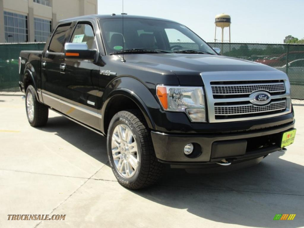 2011 ford f150 platinum supercrew 4x4 in tuxedo black metallic b10069 truck n 39 sale. Black Bedroom Furniture Sets. Home Design Ideas