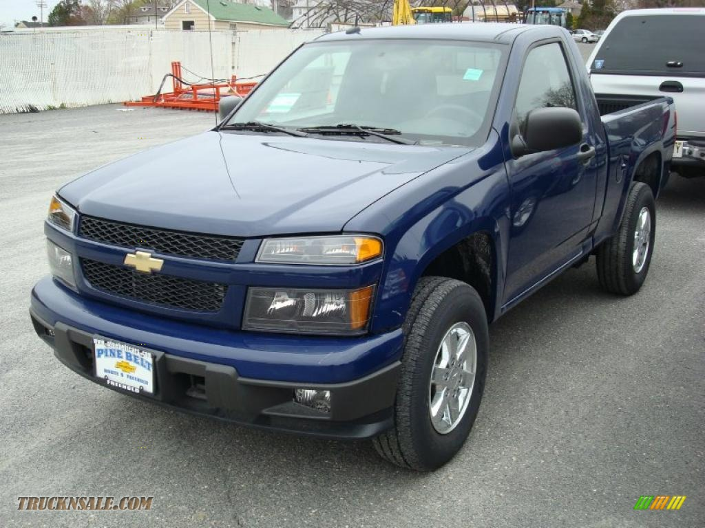 2011 chevrolet colorado lt regular cab 4x4 in deep navy. Black Bedroom Furniture Sets. Home Design Ideas