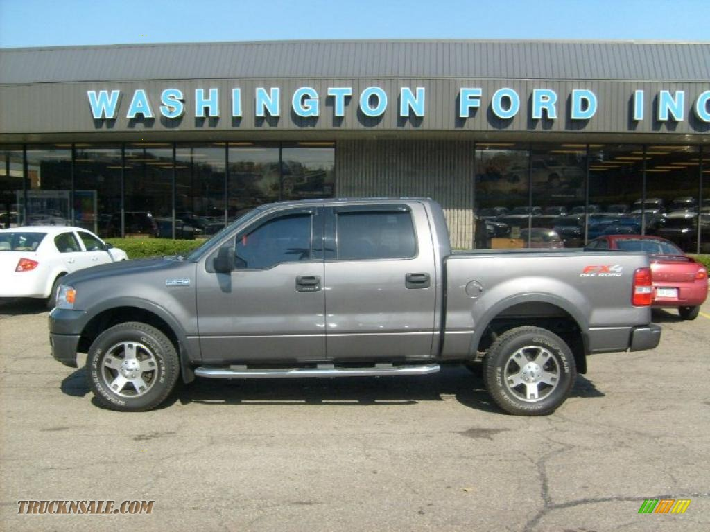Dark shadow grey metallic black ford f150 fx4 supercrew 4x4