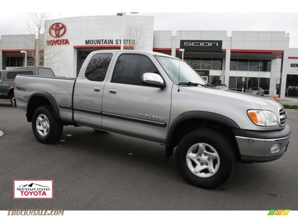 2002 toyota tundra sr5 trd access cab 4x4 in silver sky metallic 313253 truck n 39 sale. Black Bedroom Furniture Sets. Home Design Ideas